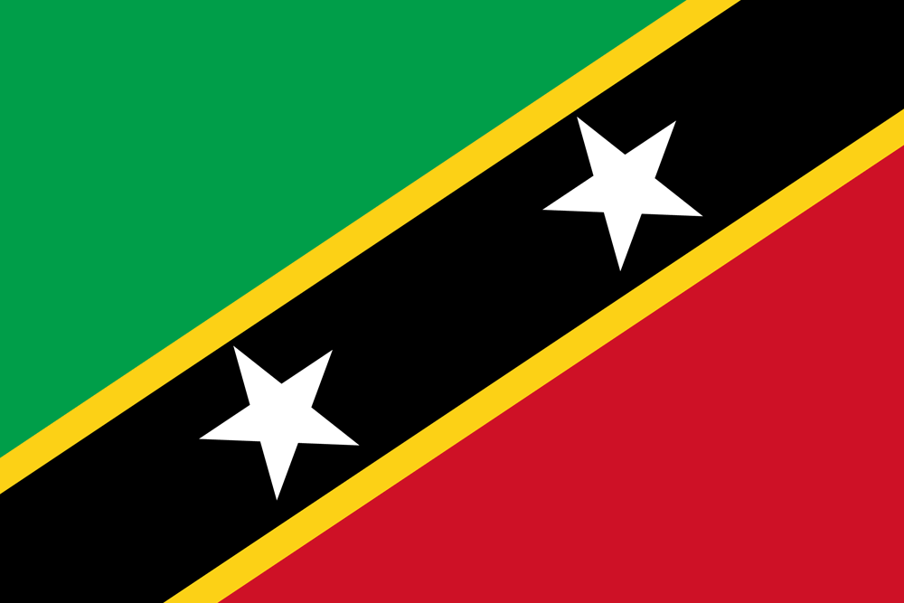 St.Kitts and Nevis Flag